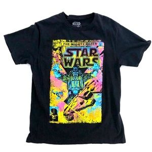 Star Wars Rainbow Graphic Shirt Large (Small)